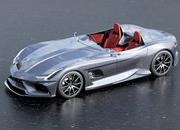 AMG GT Silver Echo: A Modern Mercedes SLR Rendering That Pays Tribute to Stirling Moss - image 895988