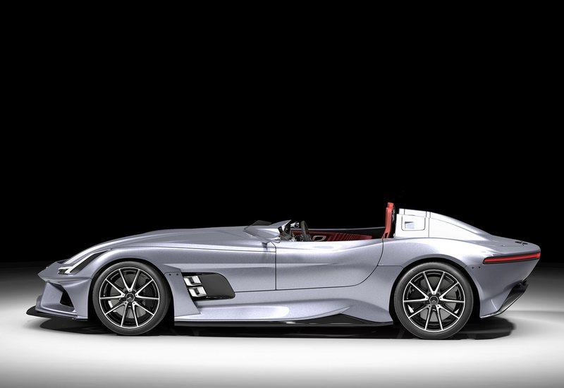 AMG GT Silver Echo: A Modern Mercedes SLR Rendering That Pays Tribute to Stirling Moss