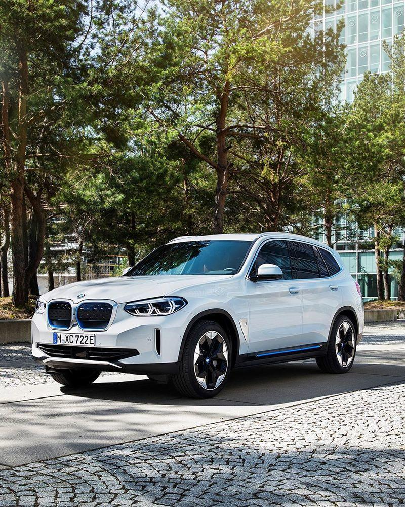 Leaked: Your First Look At the 2021 BMW iX3 SUV EV
