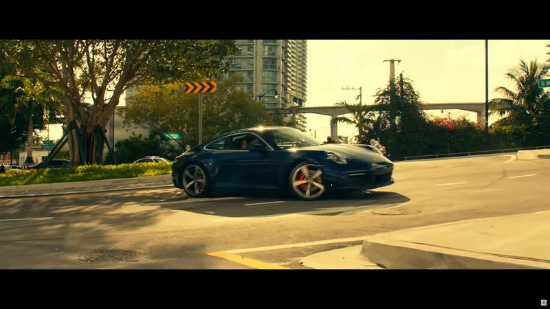 Bad Boys For Life Porsche 911 Carrera 4S Sounds a Lot Like a Carrera GT