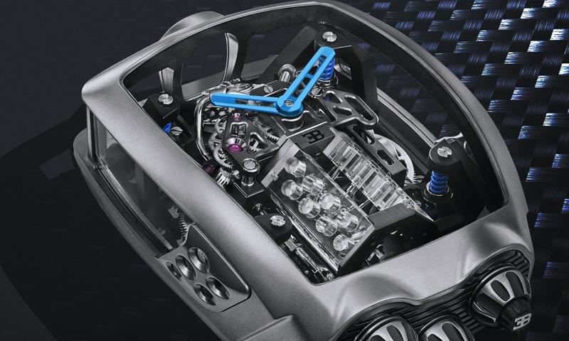 Buy a Decent House or this $280,000 Bugatti Watch with a Tiny, Working W-16 Inside