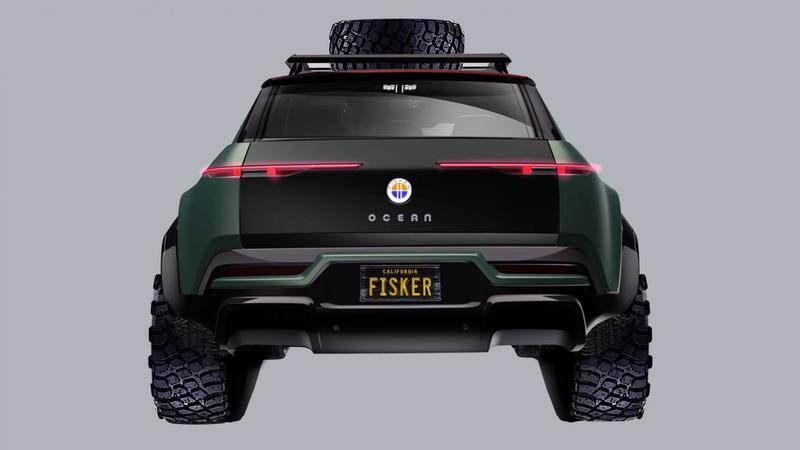 "Fisker Is Teasing a ""Rescue and Mil-Spec"" Package for the Ocean SUV"
