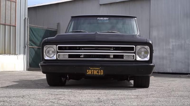 Here's a 1968 Chevy C10 Swapped With A Hellcat Engine!