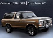 Here's a Cool Video That Shows You Every Generation of the Ford Bronco - image 897461