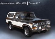 Here's a Cool Video That Shows You Every Generation of the Ford Bronco - image 897464