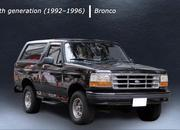 Here's a Cool Video That Shows You Every Generation of the Ford Bronco - image 897451