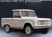 Here's a Cool Video That Shows You Every Generation of the Ford Bronco - image 897458