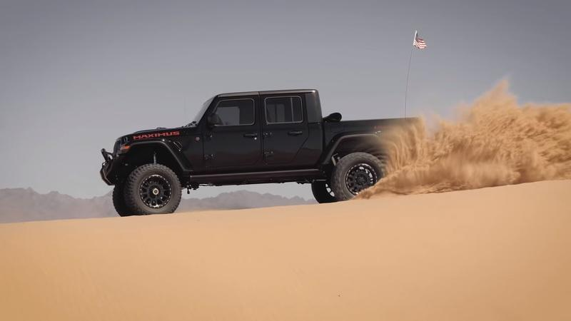 Here's How the $225,000 Hennessey Jeep Gladiator Maximus 1000 Makes the Desert Its Bitch