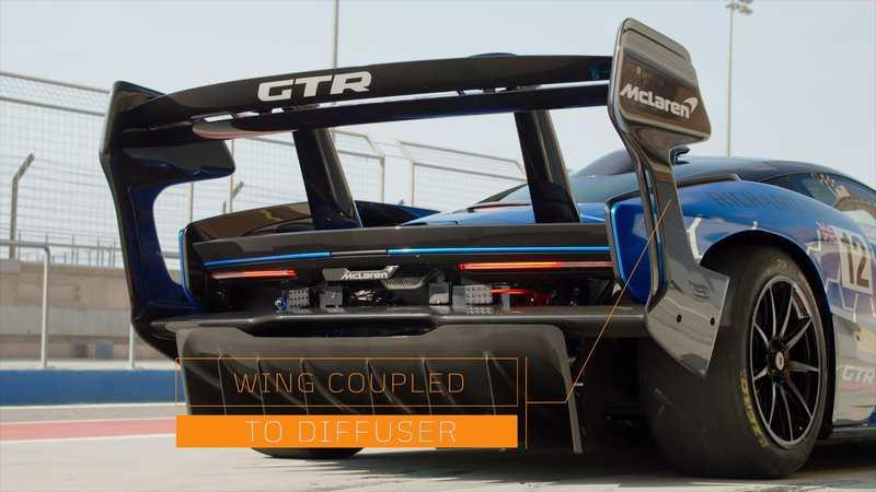 Here's the Interesting Story Behind the McLaren Senna GTR's Massive Rear Wing