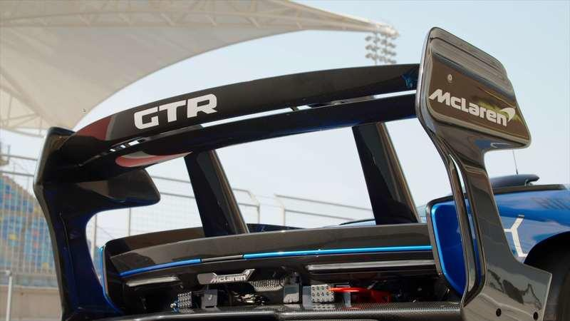 Here's the Interesting Story Behind the McLaren Senna GTR's Massive Rear Wing - image 895276