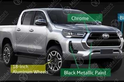 Here's Your First Look at the 2021 Toyota Hilux