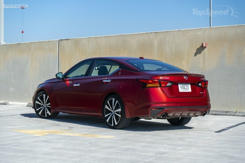 2020 Nissan Altima - Driven Exterior - image 896569