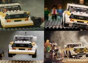 Photographer Recreates Audi Quattro Rally Moments With Lego Set - image 896035