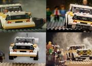 Photographer Recreates Audi Quattro Rally Moments With Lego Set - image 896003