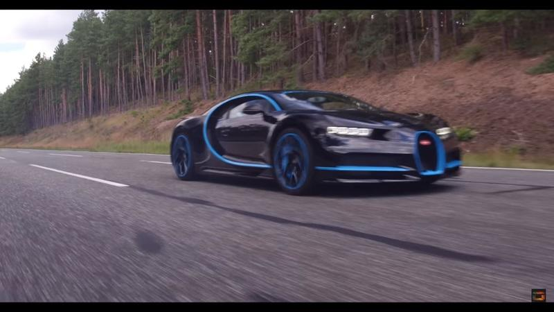 Recording a Bugatti Chiron at 250 MPH Is No Easy Task