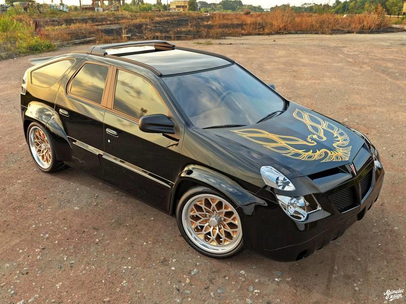Sorry, But We Can't Hate This Pontiac Aztek Trans Am - image 895176
