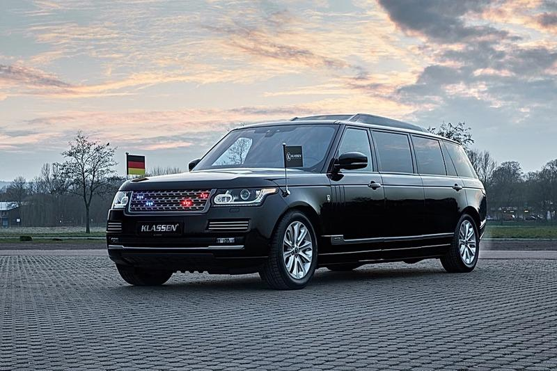 Stretched Land Rover Range Rover Autobiography By Klassen