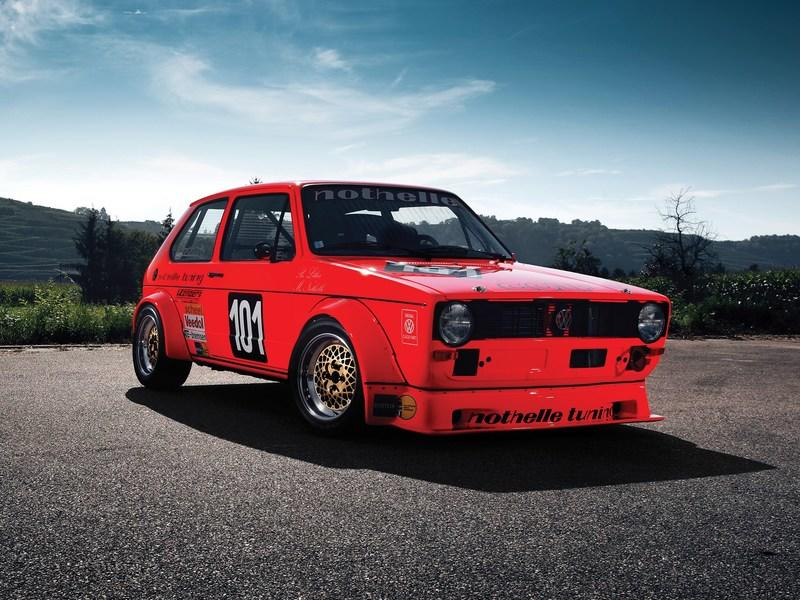 The first Volkswagen Golf race car ever built looks mean and you can buy it