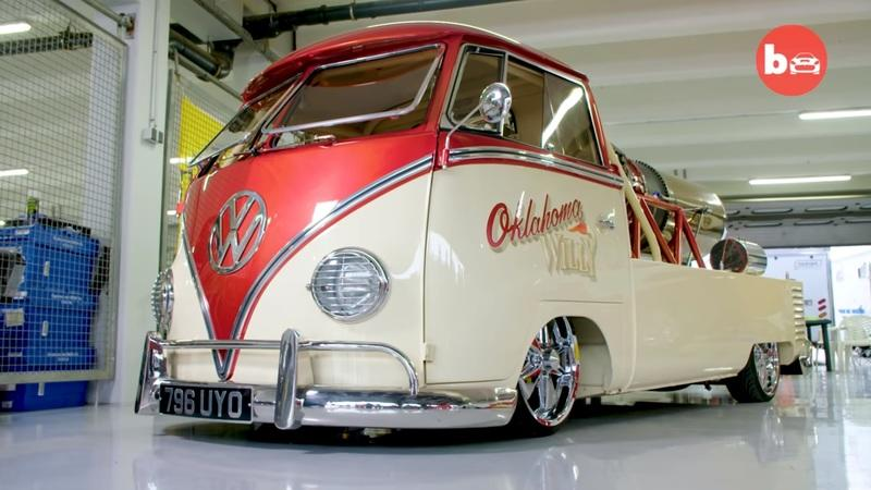 This 1958 VW Bus Took a Huge Dose of Top Gun Steroids
