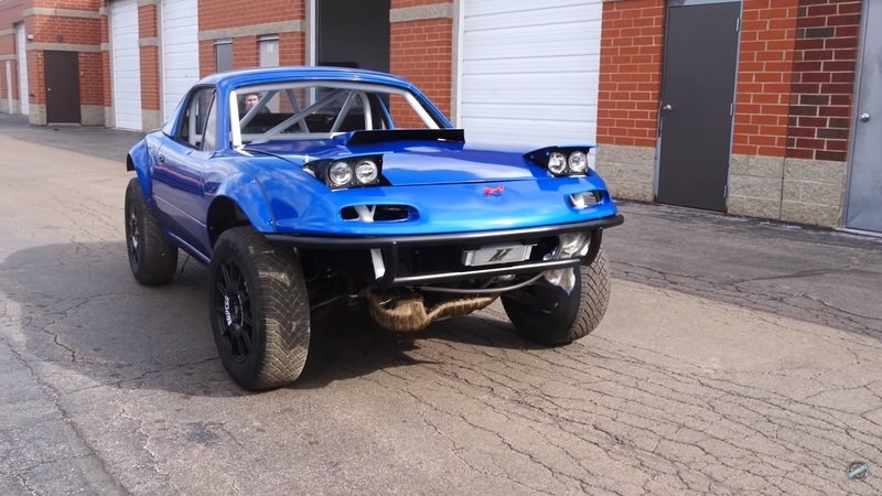 This Guy Is Building an AWD Off-Road Mazda Miata and It's Awesome