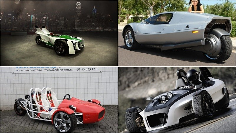Top 10 Three-Wheeled Vehicles We Would Love To Drive