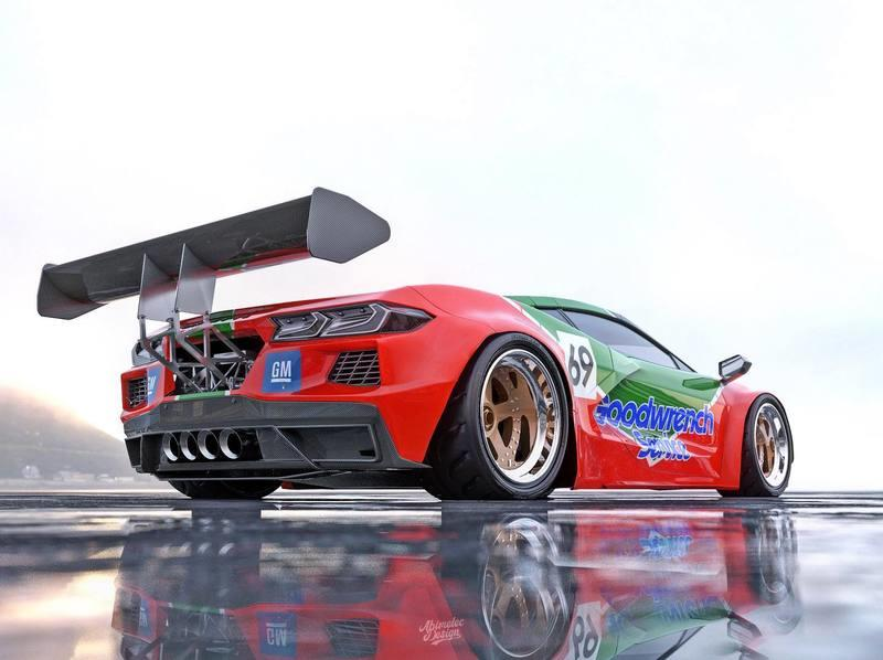 We Need This Chevrolet C8 Corvette Livery To Become Reality