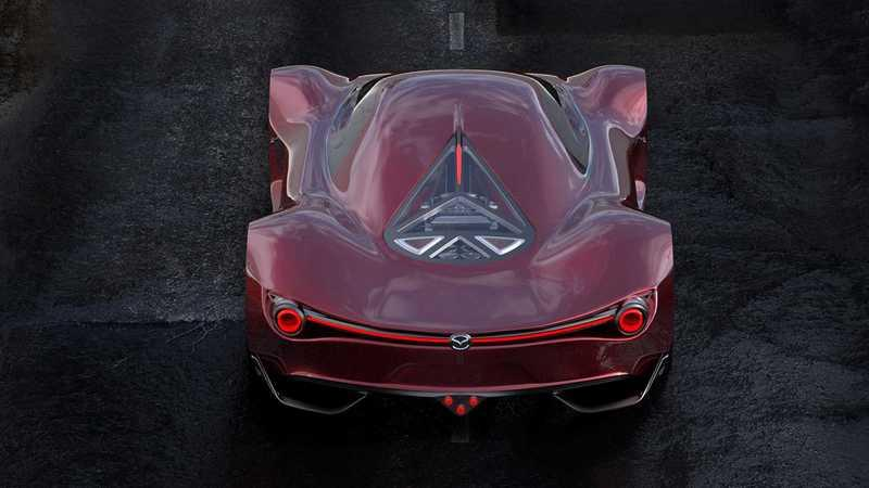 You Have to Check Out This Mazda RX-10 Vision Longtail Supercar for Le Mans Exterior Computer Renderings and Photoshop - image 895787
