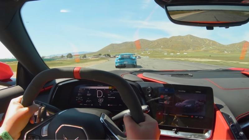 You Won't Believe How Well a 2020 Chevy C8 Corvette Can Run With a Porsche 911 GT3 RS on the Track