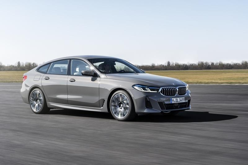 The 2021 BMW 6 Series Gran Turismo Is Still Ugly, But It's Now a Mild Hybrid