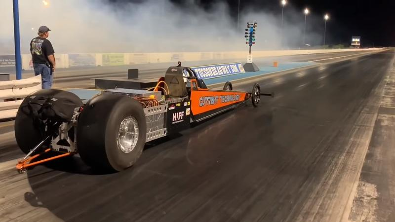 An Electric Dragster Has Finally Broken the 200-MPH Barrier