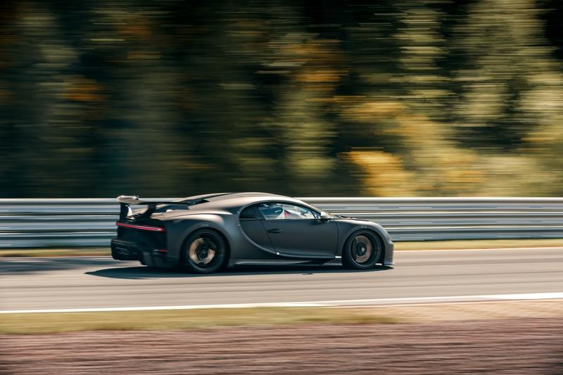 Behold the Bugatti Chiron Pur Sport Giving the Bilster Berg The Business Exterior - image 908053