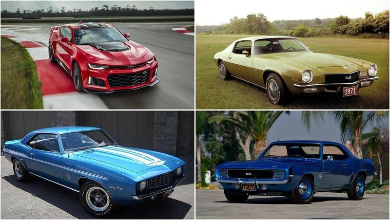 The Best Chevy Camaros of All Time