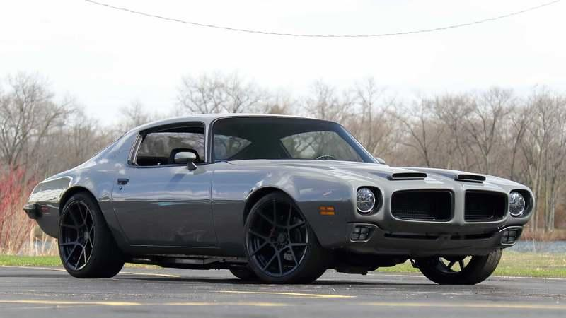 Car for Sale: 1974 Pontiac Firebird Resto Mod With a Corvette LS3