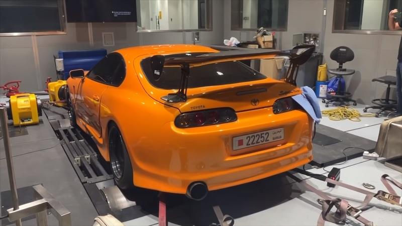 Check Out This Hand-Built 2JZ Toyota Supra Laying Down 2,033 Horsepower on the Dyno