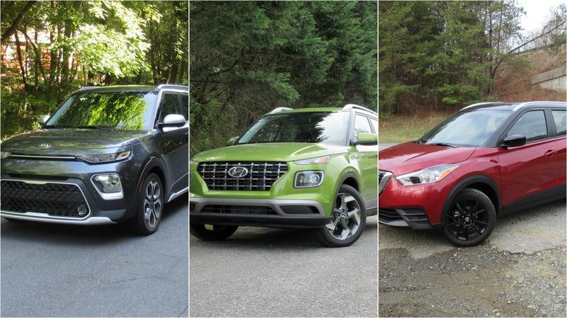 Comparing the Smallest Crossovers: 2020 Hyundai Venue vs. 2020 Kia Soul vs. 2020 Nissan Kicks