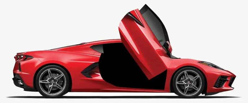 For $3,000 You Can Have Lambo Doors Installed on your 2020 Chevy C8 Corvette
