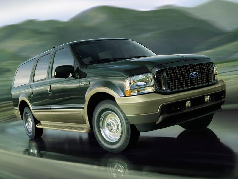 Ford Renews The 'Excursion' Trademark