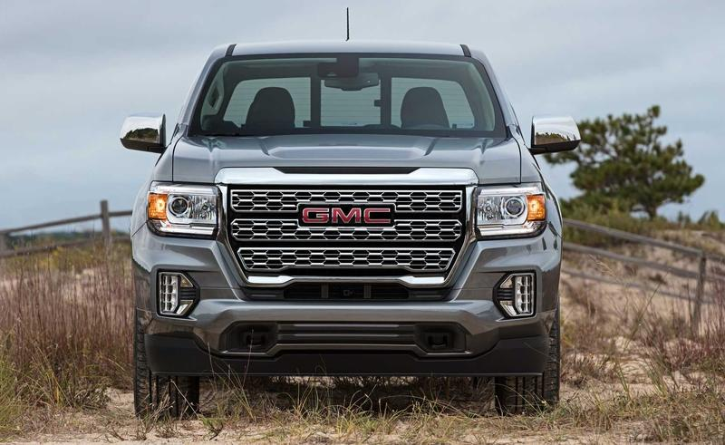 GMC Reveals The 2021 Canyon Denali's 'Heroic Grille'
