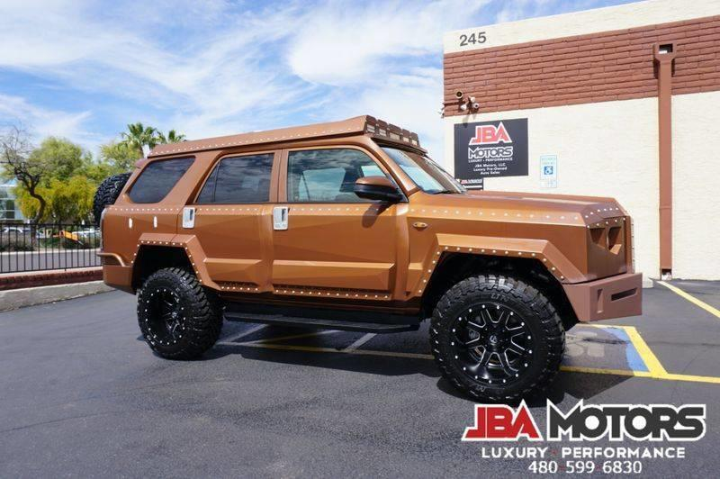 You Could Definitely Survive the Apocalypse With This Custom Toyota 4Runner