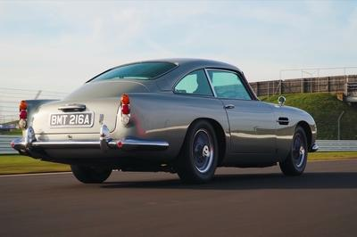 Here's What It's Like to Drive 007's Aston Martin DB5 From No Time to Die!