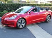 How Do You Feel About A Tesla Model 3 Convertible? - image 907722