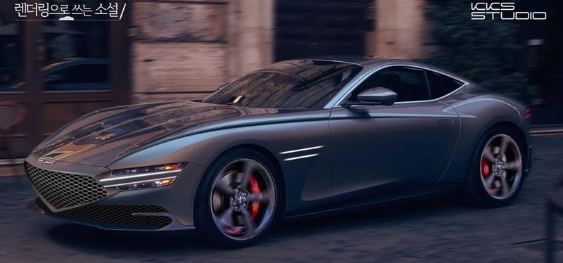 This Rendering Has Us Convinced That Genesis Needs to Build a Sports Coupe ASAP