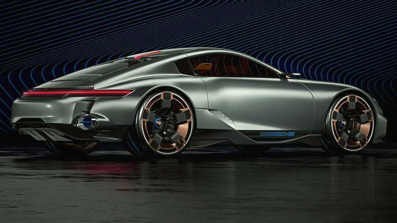 If This Porsche Cyber 677 Concept Is the Future Porsche 911, We Need a Time Machine Drawings Exterior - image 907465