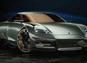 If This Porsche Cyber 677 Concept Is the Future Porsche 911, We Need a Time Machine - image 907466