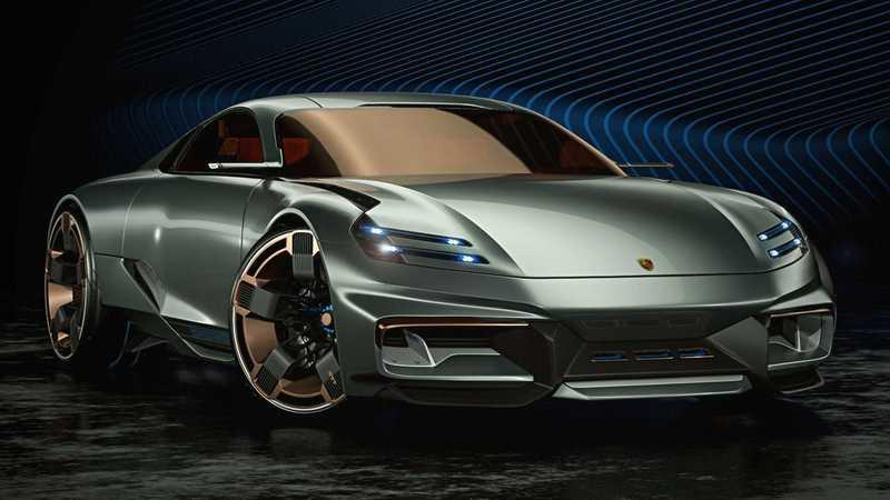 If This Porsche Cyber 677 Concept Is the Future Porsche 911, We Need a Time Machine
