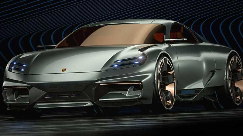 If This Porsche Cyber 677 Concept Is the Future Porsche 911, We Need a Time Machine Drawings Exterior - image 907468