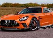 If You Can't Wait to See the 2021 Mercedes-AMG GT Black Series, This Rendering Should Fill the Void - image 905745