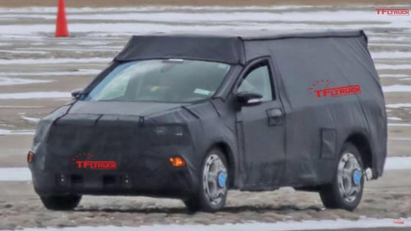 Is Ford Working On A Bronco-Based Pickup Truck Called Maverick? - image 901100