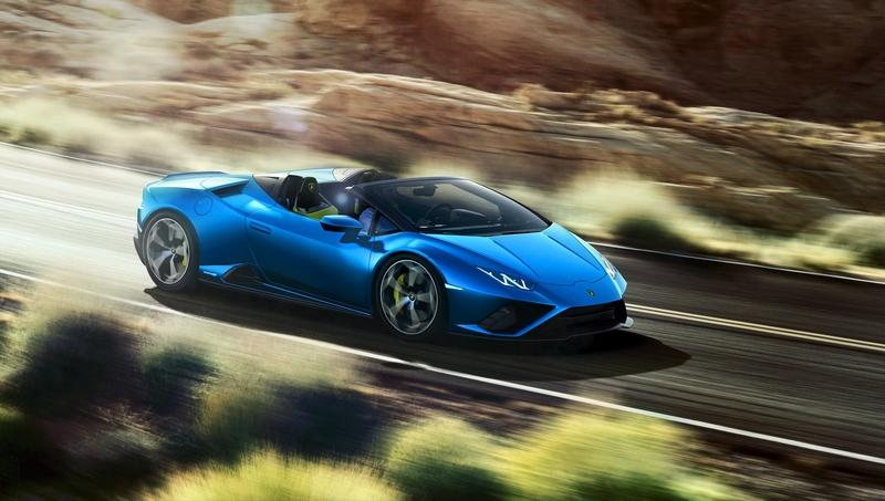 Lamborghini Huracan EVO RWD Spyder Hits The Market With Unique Looks
