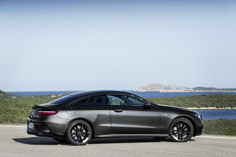 The new Mercedes-AMG E53 Coupe looks just as hot as the E63